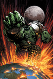 World War Hulk No1 Cover: Hulk Flying