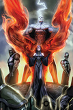 Realm of Kings Inhumans No1 Cover: Medusa  Karnak and Gorgon