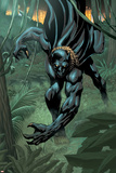 Black Panther 2099 No1 Cover: Black Panther