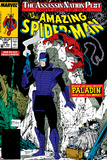 Amazing Spider-Man No320 Cover: Spider-Man and Paladin