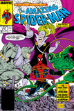 Amazing Spider-Man No319 Cover: Spider-Man  Blacklash  Scorpion and Rhino