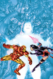 Contest Of Champions II No1 Cover: Iron Man and Psylocke