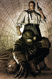 Spider-Man Noir No4 Cover: Spider-Man  and Norman Osborn