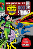 Strange Tales No150 Cover: Dr Strange and Umar