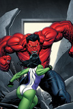King Size Hulk No1 Cover: She-Hulk and Rulk