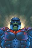 Marvel Team-Up No12 Cover: Titannus and Super Skrull