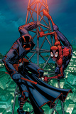 Marvel Adventures Spider-Man No27 Cover: Spider-Man and Night-Thrasher