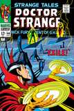 Strange Tales No168 Cover: Dr Strange and Yandroth