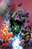 War of Kings: Savage World of Skaar No1 Cover: Skaar  Starbolt and Gorgon