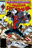 Amazing Spider-Man No322 Cover: Spider-Man