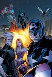Ultimate X-Men No63 Group: Captain America