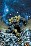 Thanos No4 Cover: Thanos