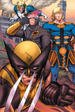 Eternals No7 Group: Ikaris  Wolverine and Cyclops