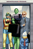 She-Hulk No8 Cover: She-Hulk  Howard the Duck  Murdock and Matt