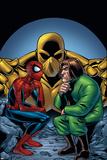 Marvel Adventures Spider-Man No11 Cover: Spider-Man and Mad Thinker