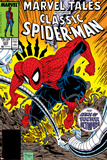 Marvel Tales: Spider-Man No223 Cover: Spider-Man and Doctor Octopus Fighting