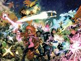 War Of Kings Saga Cover: Black Bolt and Vulcan