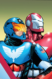 The Amazing Spider-Man No599 Cover: American Son and Iron Patriot