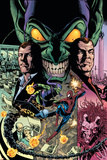 The Amazing Spider-Man No595 Cover: Spider-Man and Green Goblin