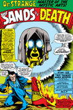 Strange Tales No158 Headshot: Dr Strange and Living Tribunal