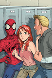 Spider-Man Loves Mary-Jane No2 Cover: Spider-Man  Mary Jane Watson  and Flash Thompson
