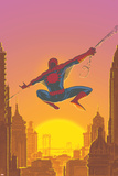 Spectacular Spider-Man No27 Cover: Spider-Man Swinging