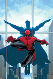 Marvel Knights Spider-Man No16 Cover: Spider-Man and Virtue
