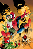 Ultimatum: Spider-Man Requiem No2 Cover: Spider-Man Jumping