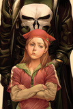 Runaways No26 Cover: Punisher  Hayes and Molly