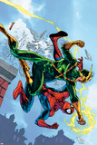 Marvel Adventures Spider-Man No5 Cover: Spider-Man and Electro