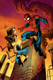Ultimate Spider-Man Annual No1 Cover: Spider-Man and Shadowcat