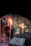 Daredevil: Redemption No3 Cover: Daredevil Flying