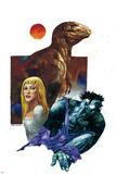 Marvel 1602: New World No1 Cover: Hulk  Dare and Virginia