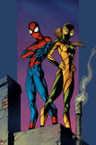 Ultimate Spider-Man No91 Cover: Shadowcat and Spider-Man