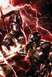 War Machine No3 Cover: War Machine and Ares
