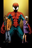 Ultimate Spider-Man No111 Cover: Spider-Man  Peter and May Parker