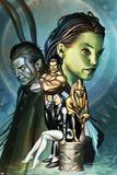 Inhumans No12 Cover: Alaris  San  Tonaja  Nahrees and Inhumans