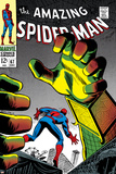 The Amazing Spider-Man No67 Cover: Mysterio and Spider-Man
