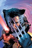 X-Men: The End No1 Cover: Wolverine  Cyclops and Storm