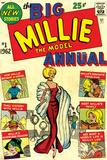 Marvel Comics Retro: Millie the Model Comic Book Cover No1  the Big Annual