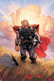 Thor No10 Cover: Thor Jumping