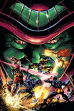 X-Men Unlimited No13 Cover: Colossus  Wolverine  Beast  Cyclops  Phoenix and Mesmero