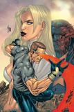 New X-Men No155 Cover: Cyclops  Emma Frost and Beast