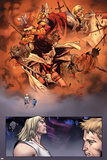 Thor No1 Group: Thor  Valkyrie  Sif  Beta-Ray Bill  Volstagg  Blake and Donald Screaming