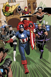 Magnetro: Not a Hero No2: Captain America  Daisy Johnson  Storm  Hawkeye  Red Hulk and Others