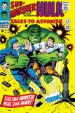 Tales to Astonish No83 Cover: Hulk and Thunderbolt Ross