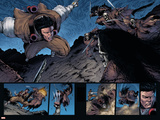 Wolverine: Soultaker No4 Group: Wolverine and Zombie Fighting