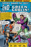 Dark Reign: The Goblin Legacy One-Shot Cover: Osborn  Norman  Parker and Peter Fighting