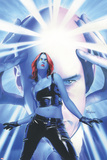 Mystique No15 Cover: Mystique and Professor X