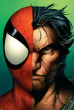 Ultimate Spider-Man No67 Cover: Spider-Man and Wolverine